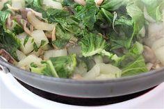 Bok Choy and Oyster Mushroom Stir-Fry #client #IBS #FODMAP #lowfodmap