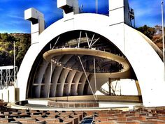 Get the Hollywood Bowl (almost) all to yourself during morning rehearsals with the LA Philharmonic this summer - the amphitheater is open to the public on select days for free rehearsal viewings. The Hollywood Bowl, Hooray For Hollywood, Stuff To Do, Things To Do, I Love La, City Of Angels, Summer Bucket Lists, California Love