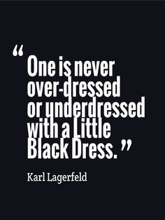 Black dress casual quote