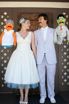 Luke and Suzannes Muppet wedding | Offbeat Bride