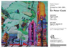 Peter Cook's Drawings, Towers, CRAB