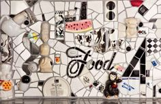 Saban Kitchen Mosaic Backsplash, Mosaic Wall Art, Broken China, Mosaics, Tea Pots, Photo Wall, Gallery Wall, Miniatures, Kitchen Pantry