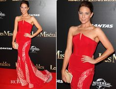 As 2012 draws to a close Kate Ritchie wanted to see out the year with a bang at the 'Les Miserables' Sydney premiere this evening in Australia. Steven Khalil, Red Gowns, Everyday Dresses, Les Miserables, Home And Away, Red Carpet Fashion, Pretty Dresses, Sydney, Highlights