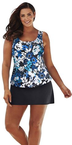 ca29bc34b76 Beach Belle Women s Peony Classic Skirtini    Unbelievable item right here!    Plus size