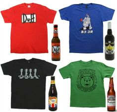 cfdb61bb8542 Beer T-shirt pairings! How to pick a beer to match your outfit Beer