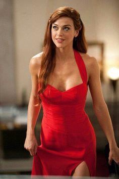 Adriane palicki red dress