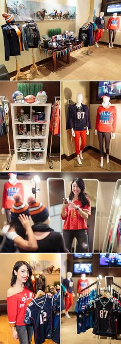 """The all-female football party """"#NFLSundaySocial"""" featured a pop-up shop with NFL's hottest new fan apparel ChickAdvisor Loves NFL Canada"""