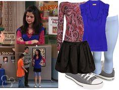 """Selena Gomez as Alex Russo"""
