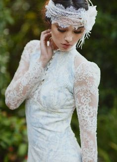 lace modern wedding dresses