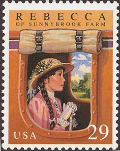 Literary Stamps: Wiggin, Kate Douglas (1856 -1923)
