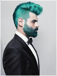 Matching the color of all your facial hair will make you stand out from the crowd.