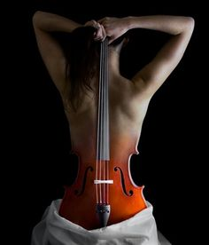 """Reinvention of the cello"" - photo manipulation by Alexander Kharlamov"