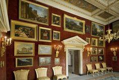Chiswick House. The Red Velvet Room. 1729