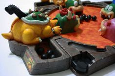 A toy hacker turned Hungry Hungry Hippos into a Mario-themed gaming extravaganza.