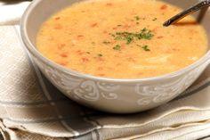 Receita de Sopa de grão com farinheira. Descubra como cozinhar Sopa de grão com farinheira de maneira prática e deliciosa com a Teleculinaria!