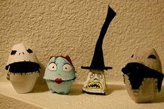 Egg Carton Creations (Nightmare Before Christmas)