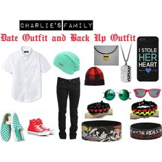 """""""Charlie's Family Date Outfit and Back Up Outfit"""" by sphinal on Polyvore"""