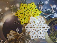 Christmas Coaster Snowflake crochet pattern by Serova Natalia. Quick gift that says you care.