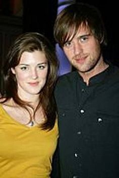 Lucy Griffiths and Jonas Armstrong