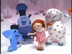 """Island of misfit toys from """"Rudolph the red nosed reindeer""""   <3 My favorite part of this movie, when they hear Santa coming for them and they get so happy, awww. Always uplifted my spirit as a child."""