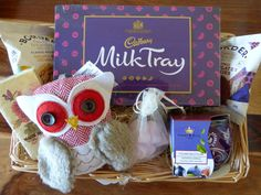 Lovely Owl Candle Gift Pamper Hamper Basket for Mum Nana Aunt Sister Birthday in Home, Furniture & DIY, Celebrations & Occasions, Other Celebrations & Occasions | eBay