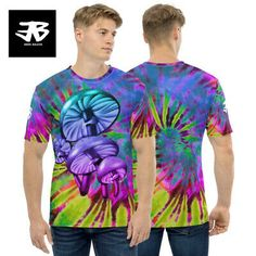 Find many great new & used options and get the best deals for Psychedelic T Shirt Trippy Acid Stoner Magic Mushrooms Hallucinogen LSD Mens Tee at the best online prices at eBay! Free shipping for many products! Acid Art, Stoner, Pattern Art, Trippy, Mens Tees, Psychedelic, Mushrooms, Online Price, Magic