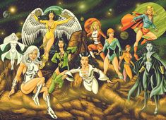 ALEX GARCIA: THE GIRLS OF THE LEGION OF SUPER HEROES