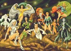 ALEX GARCIA: THE GIRLS OF THE LEGION OF SUPER HEROES