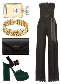 """""""Accents"""" by pstm ❤ liked on Polyvore featuring Rachel Zoe, Prada, Balenciaga and Chanel"""