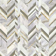 Royale / Odyssée Collection featured in natural stones (Calacatta Oro & Pacifica Blue), Venetian Glass & brushed brass Floor Patterns, Wall Patterns, Mosaic Patterns, Tiles Texture, Marble Texture, Floor Texture, Floor Design, Tile Design, Wall Cladding