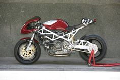 """Ducati ST2 """"Morcuera Racer"""" 2012 by Radical Ducati"""