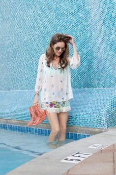 Pool Day - Lush to Blush in Show Me Your Mumu