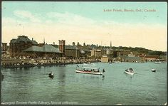 Lake Front, Barrie, Ontario, Canada    Creator: Valentine & Sons' Publishing Co. Ltd  Date: 1910