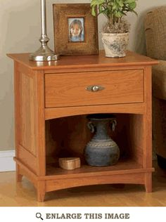 Woodworking plans - end table