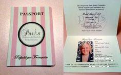 The Fleming Family: Passport To Paris!