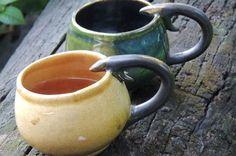 Unique Artisan Hand Made Creative Cups, Mugs - Anupama Jalan http://www.anupamajalan.com/CupsMugs-AnupamaJalan.php
