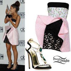 Ariana Grande at the 2015 American Music Awards. Ariana Grande Outfits Casual, Classy Outfits, Cute Outfits, Tween Fashion, Fashion 101, Teen Fashion Outfits, Girl Fashion, Girl Outfits, American Music Awards
