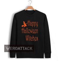 halloween witches font Unisex Sweatshirts