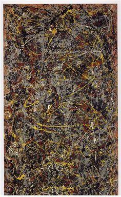 Jackson Pollock, Number 5 on ArtStack #jackson-pollock #art