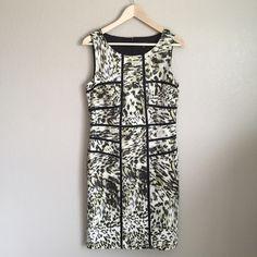 "Ann Taylor dress Shoulder to bottom hem appx. 38.5"". Waist appx. 17"" Excellent condition, gorgeous on!    RefH1207 Ann Taylor Dresses Midi"