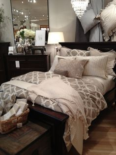 Love this pottery barn bedding                                                                                                                                                                                 More