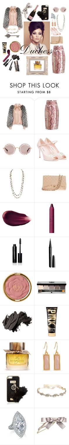 """Untitled #13"" by hayeed ❤ liked on Polyvore featuring Carolina Herrera, Zimmermann, Miu Miu, Chanel, Hourglass Cosmetics, tarte, Bobbi Brown Cosmetics, Marc Jacobs, Milani and Burberry"