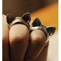 Bague Cat ears