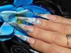 Bleu Flowers