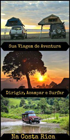 7 Dias com carro 4x4, barraca e pranchas de surf para se aventurar pelas praias, florestas e parques da Costa Rica.