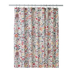 Brighten up your bathroom this holiday season with the ÅKERKULLA shower curtain.