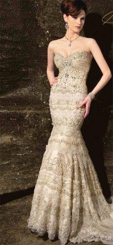 Choosing Wedding Dresses for Hourglass Body Shape