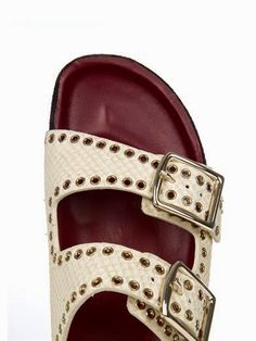 9c8feead8240 Isabel Marant studded sandals Thats Not My Age