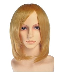 Warle Short Blonde Wig Cosplay at nextwigs.com