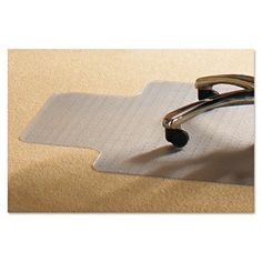 Mammoth Office Product 45 x 53 Chair Mat for Standard Pile Carpet - MPVV4553LSP